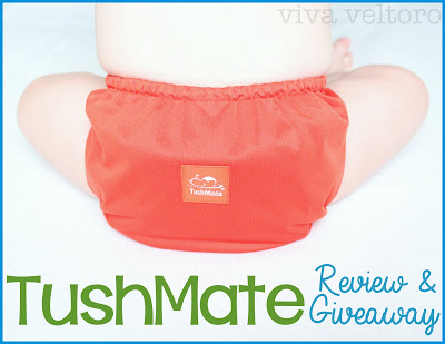 TushMate Review! #clothdiapers