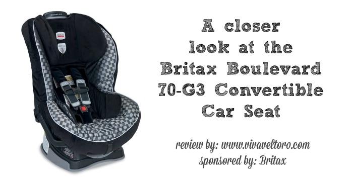 Britax Boulevard 70-G3 Car Seat Review! - Viva Veltoro