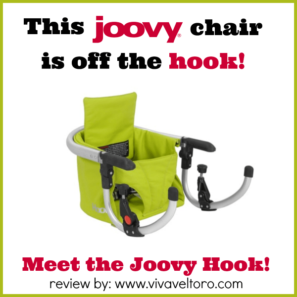 Joovy has an incredible flair for style and Iu0027ve always been a fan of their color palettes and the materials they use. A few months month at The Biggest ...  sc 1 st  Viva Veltoro & This Joovy Chair is Off the Hook! A Review of the Joovy Hook! - Viva ...