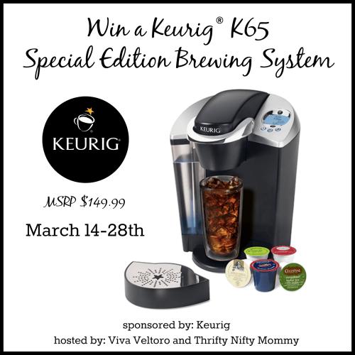Keurig K45 Elite Brewing System Review, Plus a #Giveaway!  #JustBrewIt