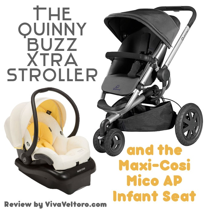 The Quinny Buzz Xtra Maxi Cosi Mico Infant Seat Review