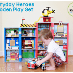 Kidkraft everyday heroes wooden play set