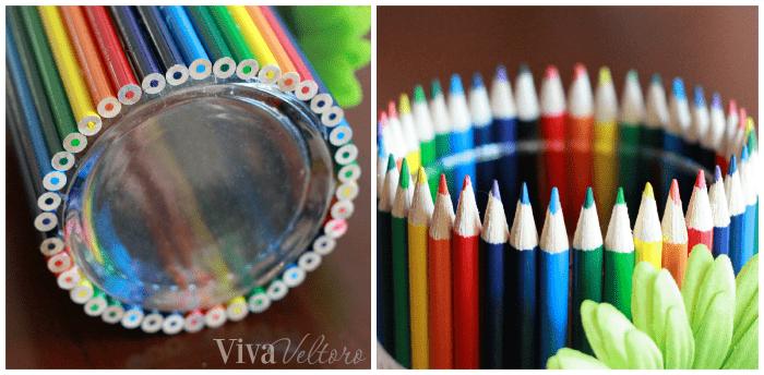Easy Diy Teacher Gift Colored Pencil Vase Viva Veltoro