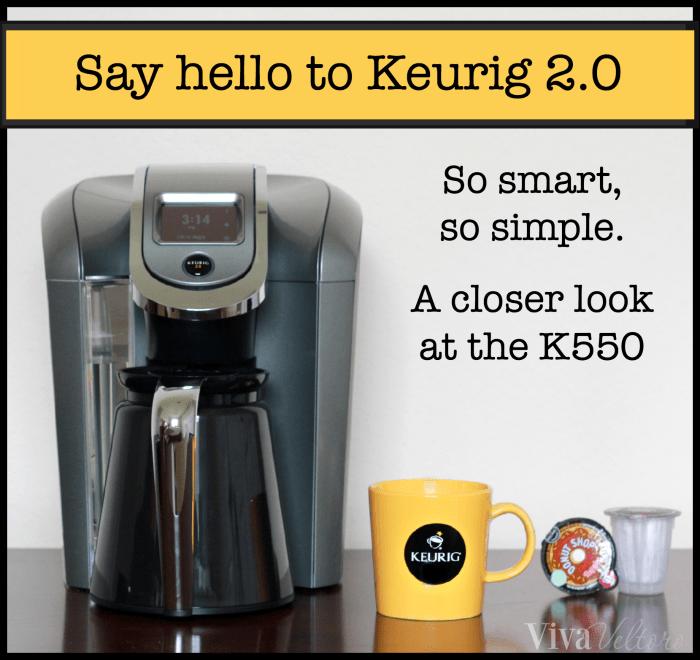 Meet Keurig's Best and Most Versatile Brewing System – The Keurig 2.0 K550!
