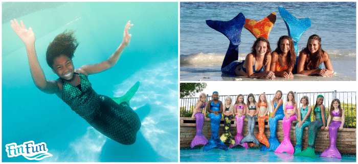 FinFun Mermaid Tails