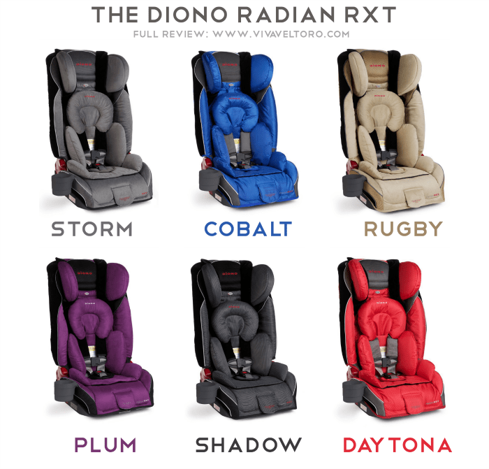 Diono Radian RXT Convertible Booster Review