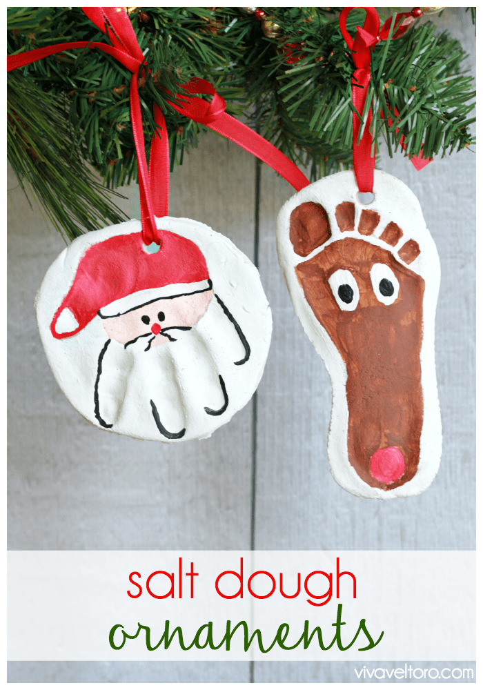 Salt Dough Ornament Recipe - Viva Veltoro