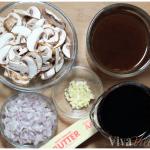 Red Wine Mushroom Sauce Ingredients