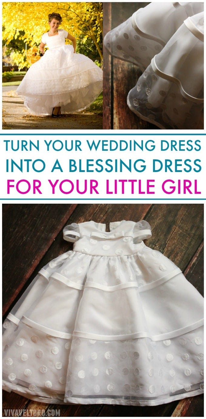 7ba7f0fbc2 What I Did with My Wedding Dress  A Blessing Gown for My Daughter