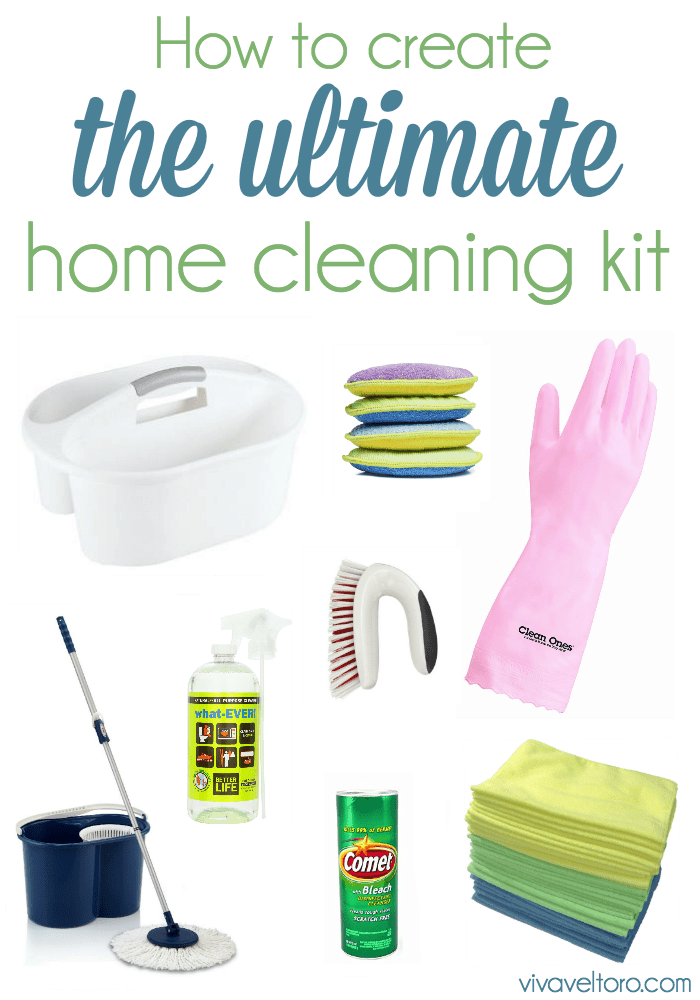 Home Cleaning Supplies List How To