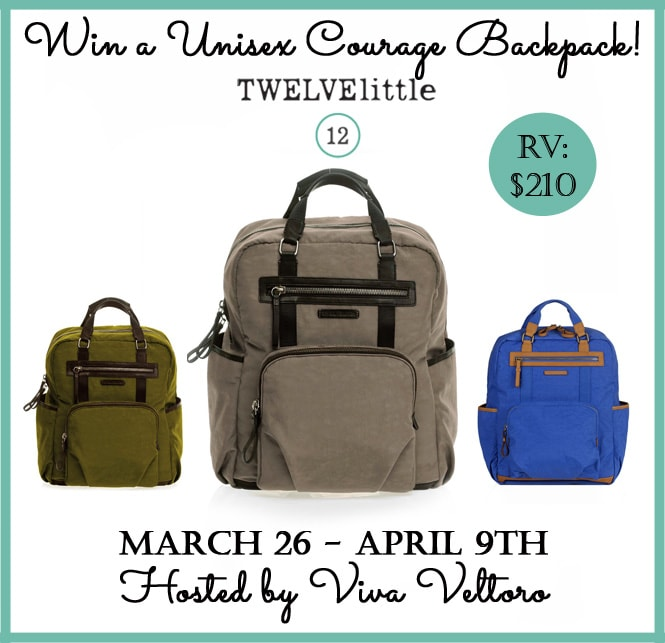 b6631e943528 The Diaper Bag Backpack from Twelve Little - Review & Giveaway!