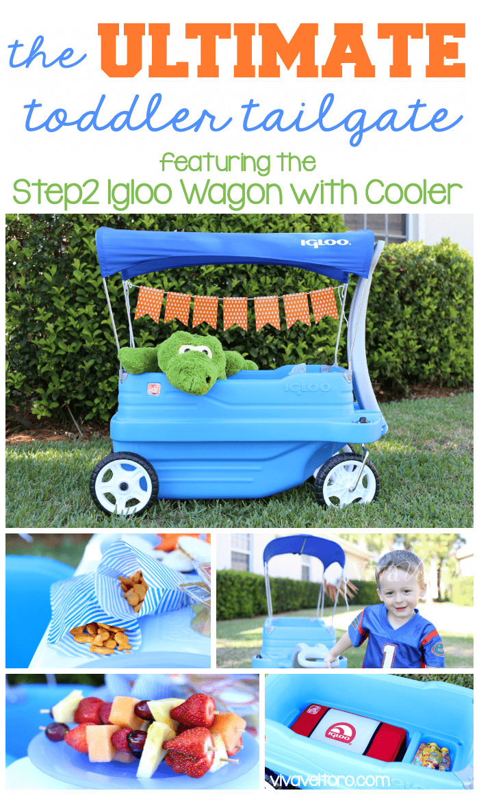 Wagon with cooler