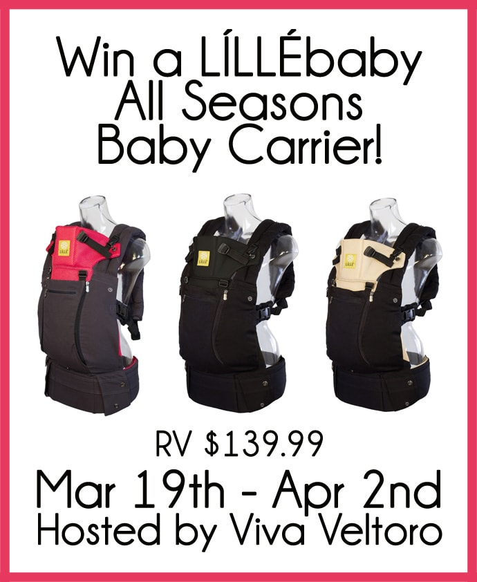 Lillebaby All Seasons Carrier Review Giveaway