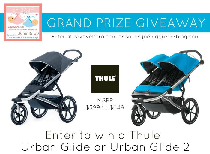 Enter To Win A Thule Urban Glide Or Urban Glide 2 Sports Stroller
