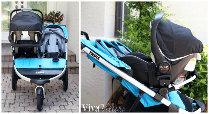 Thule Urban Glide 2 Double Jogging Stroller Review Viva Veltoro
