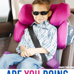 booster seat or seat belt