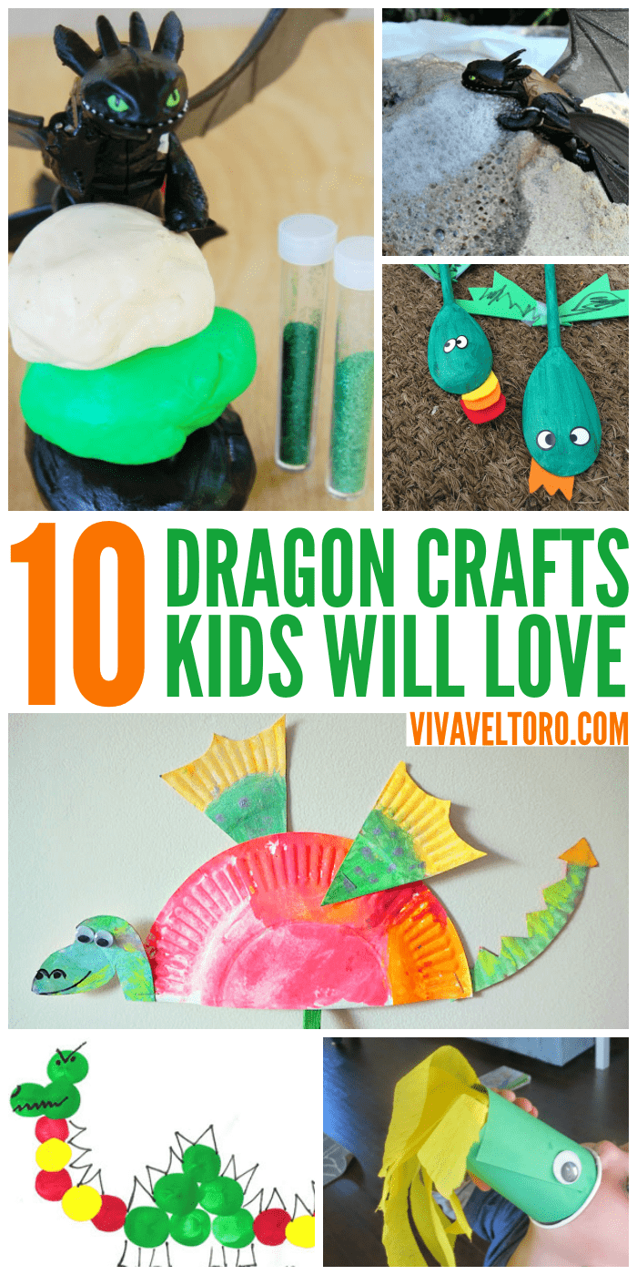 10 Awesome Dragon Crafts For Kids Streamteam Viva Veltoro