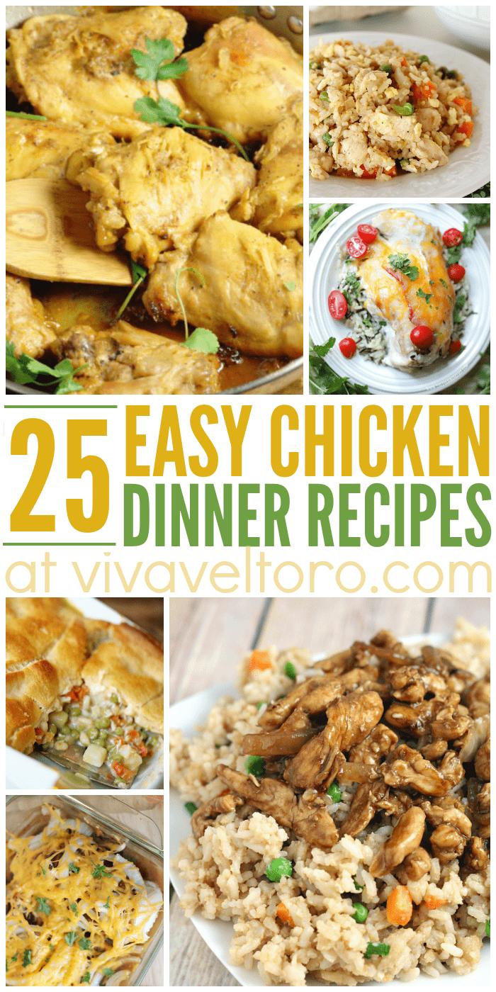 25 easy chicken dinner recipes viva veltoro easy chicken dinner recipes forumfinder Gallery