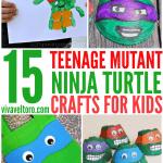 teenage mutant ninja turtle crafts