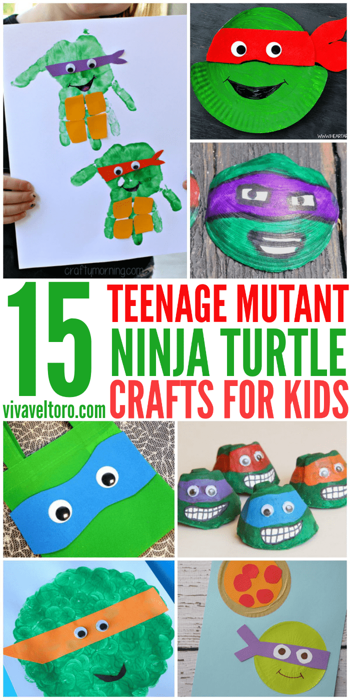 photo about Ninja Turtle Printable known as 15 extensively astounding Teenage Mutant Ninja Turtle crafts for