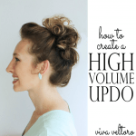 high volume hairstyle