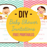 DIY Baby Shower Invitations