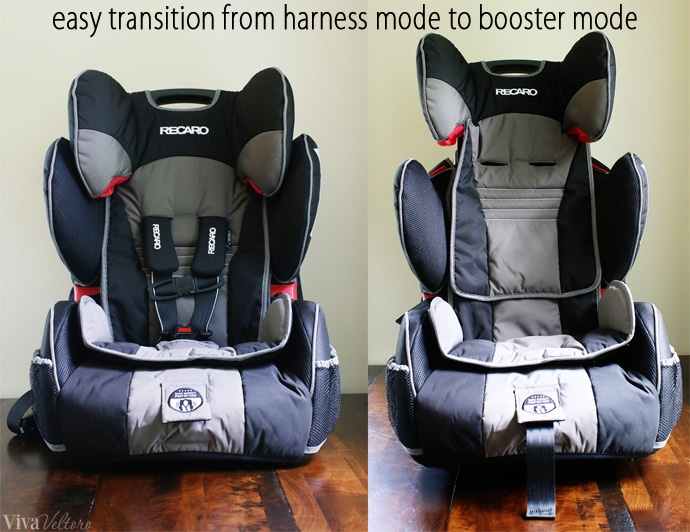 Recaro Performance Sport Combination Harness To Booster Seat