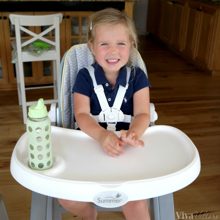 Bentwood Highchair 3 Point Harness
