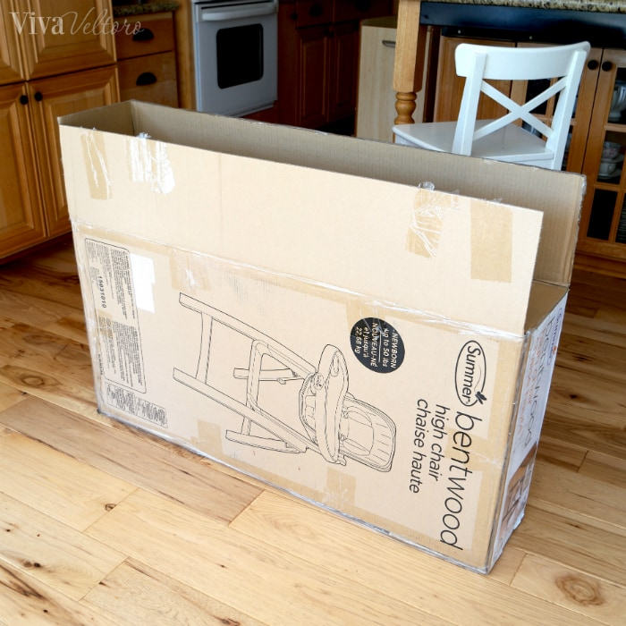 Bentwood Highchair Box