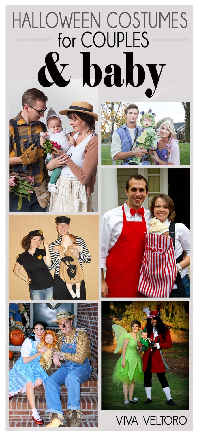 family halloween costume ideas  sc 1 st  Viva Veltoro & Halloween Costume Ideas for Couples + Baby! - Viva Veltoro