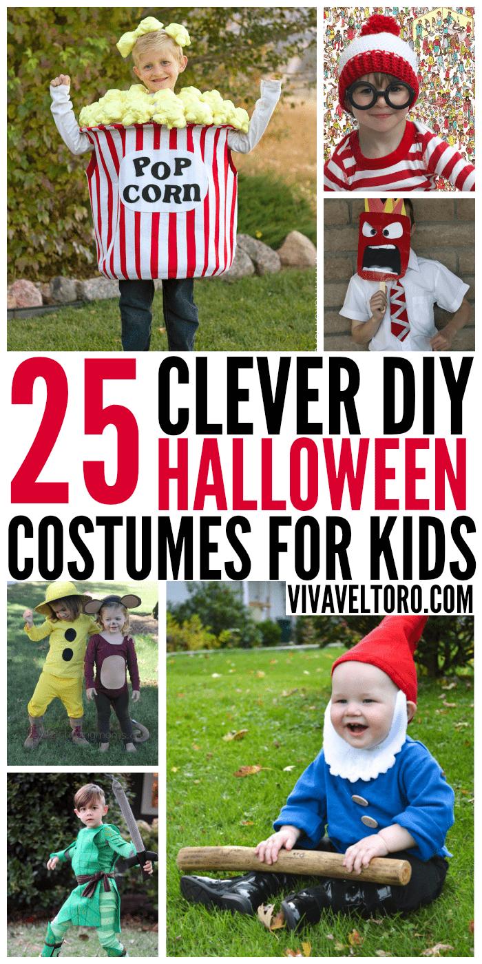25 clever diy halloween costumes for kids! - viva veltoro