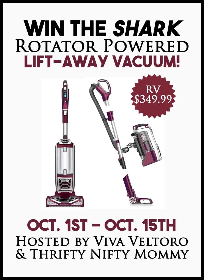 shark rotator powered liftaway vacuum giveaway