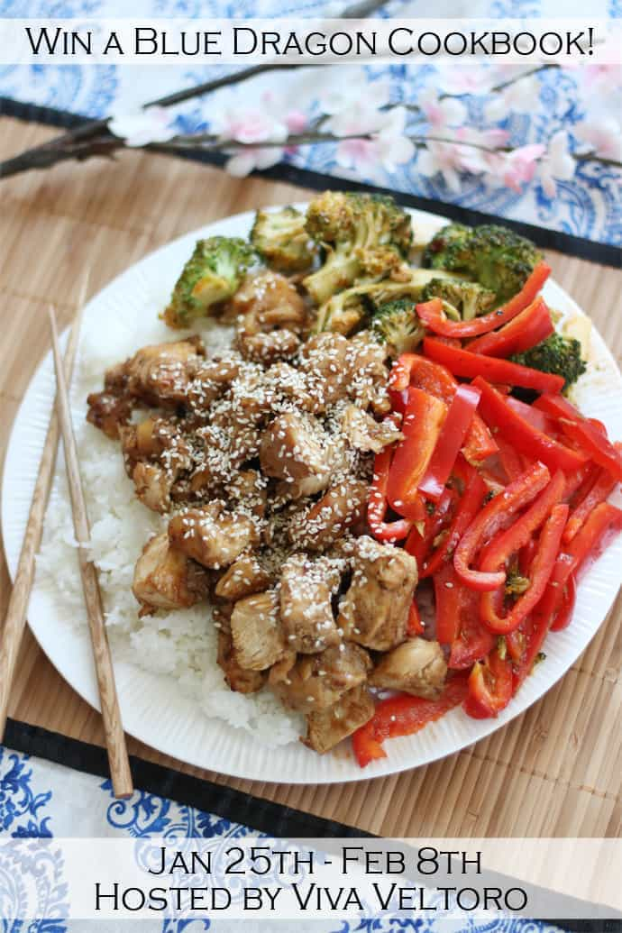 Sesame Chicken with Blue Dragon + DIY Fortune Sticks and a Giveaway ...