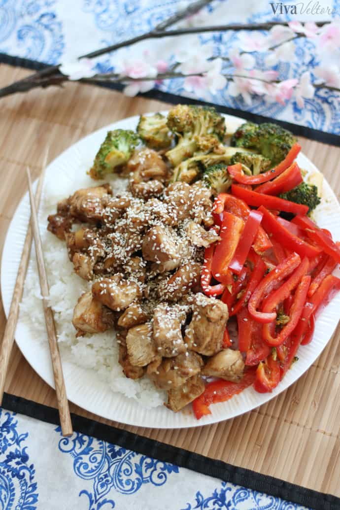 Sesame Chicken How To Make Chinese Fortune Sticks Viva Veltoro