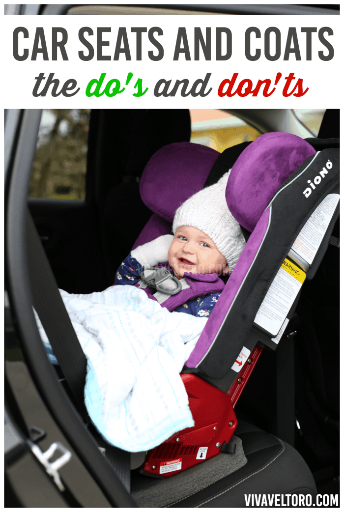 Car Seat and Coats - Let\'s Talk About the Do\'s and Don\'ts! - Viva ...