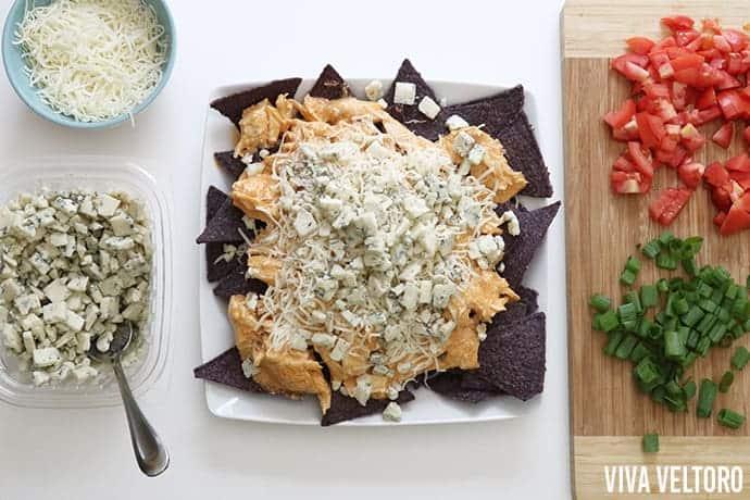 buffalo chicken nachos recipe for crockpot