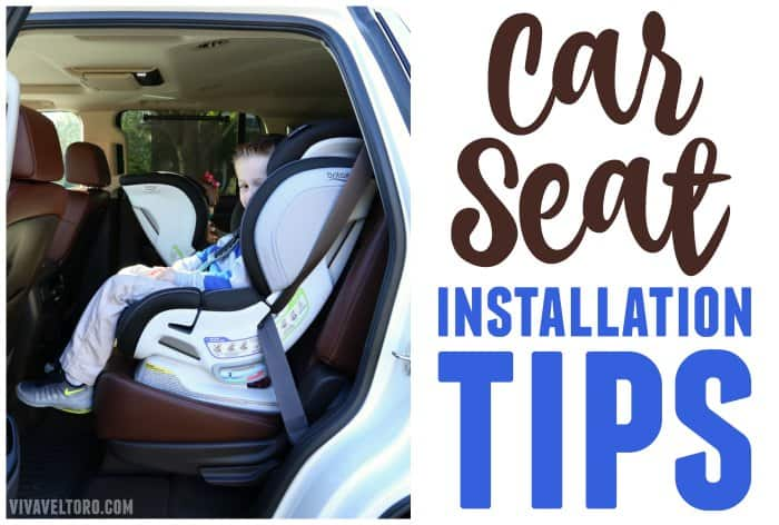 Car Seat Installation Tips and The Britax Advocate ClickTight - Viva ...