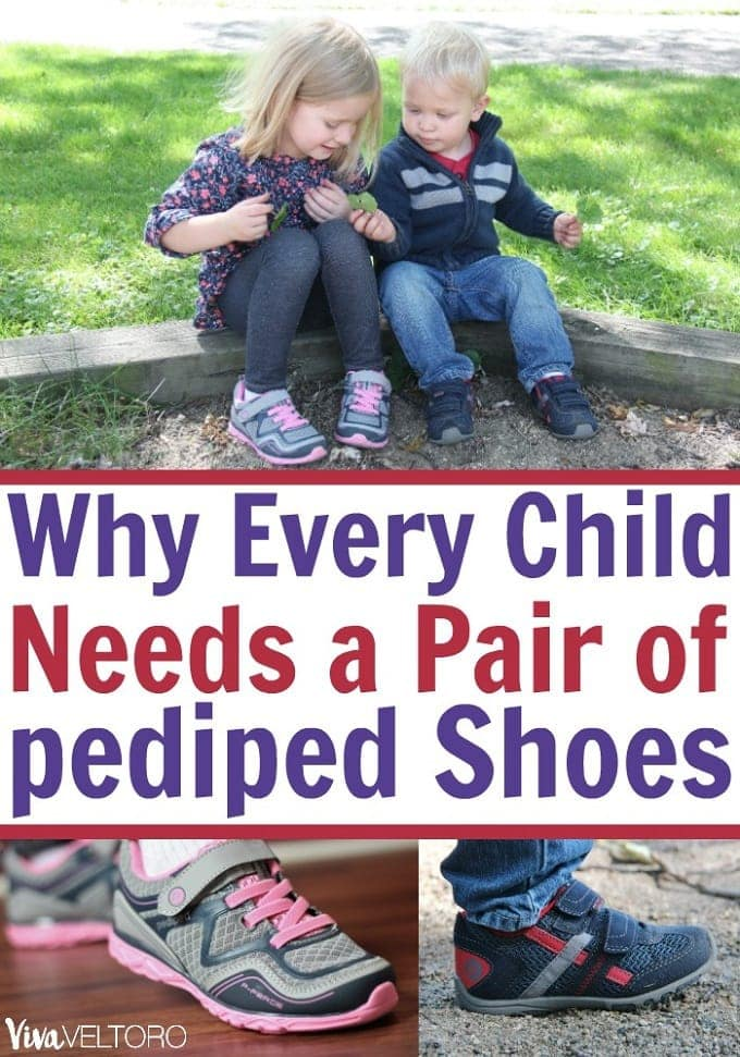 4da4c5531 Why Every Child Needs a Pair of pediped Kids  Shoes - Viva Veltoro