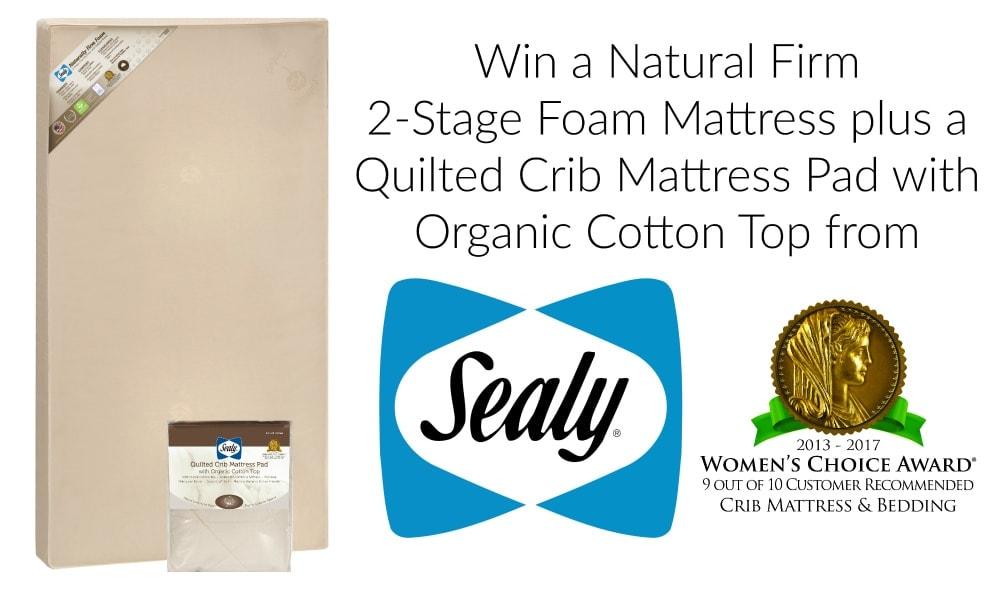 Win a Crib Mattress and Mattress Pad from Sealy Baby! - Viva Veltoro