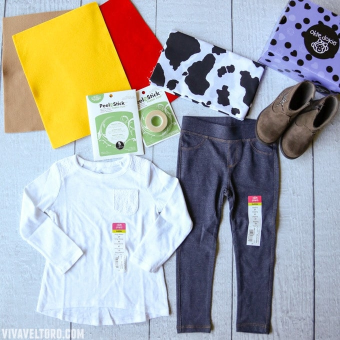 feea11919381 How to Make a Jessie Toy Story Costume. No Sewing Required! - Viva ...