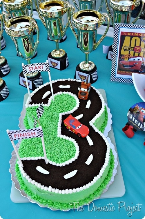 Cars Themed Birthday Party Ideas