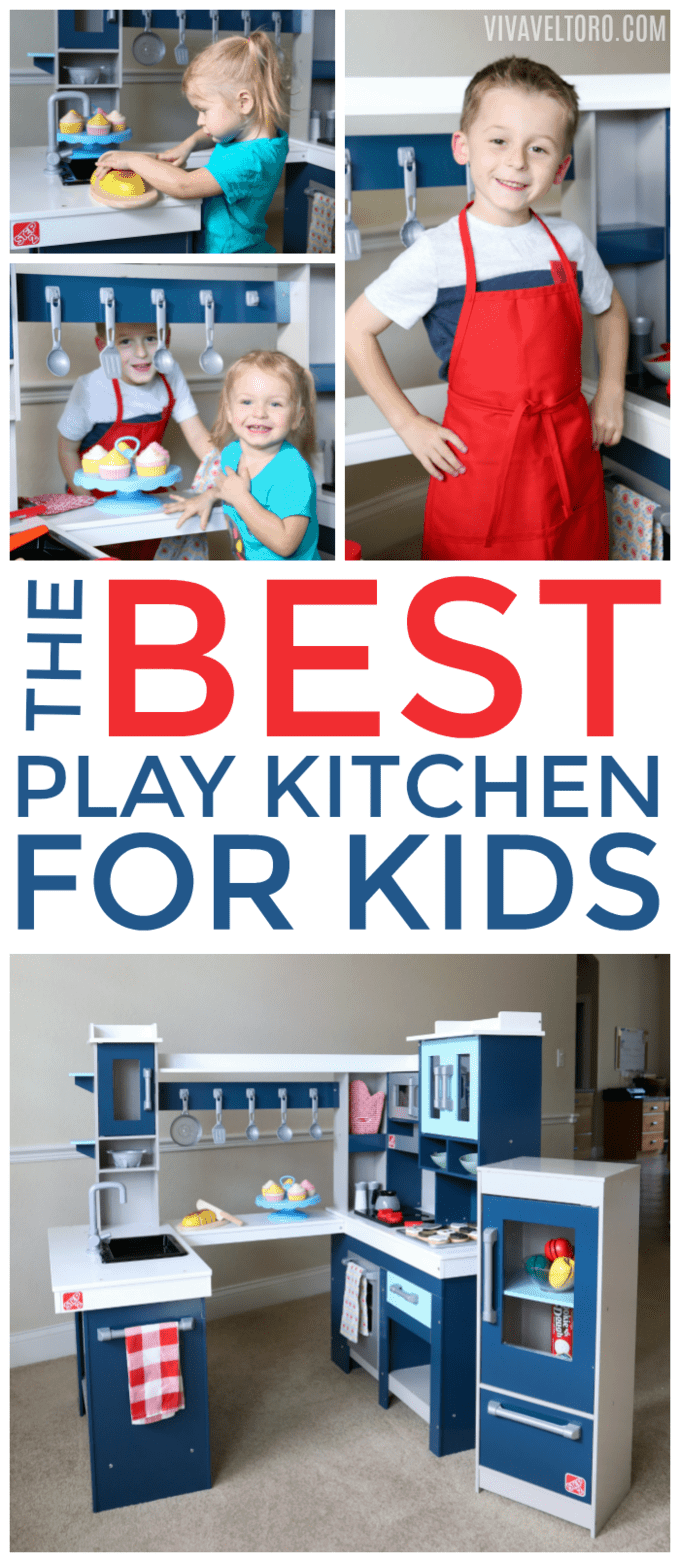 Step2 Grand Walk In Wood Kitchen For Kids Review {Plus A GIVEAWAY Step2 Grand  Walk In Wood Kitchen Wood Kitchen For Kids Shop Step2 Lifestyle Grand Walk