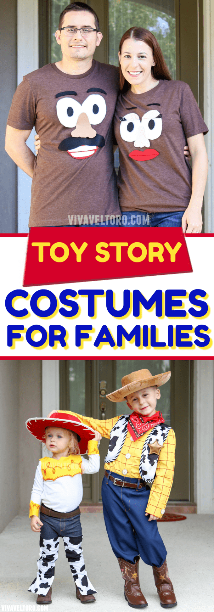 want toy story halloween costumes for the whole family weve got you covered