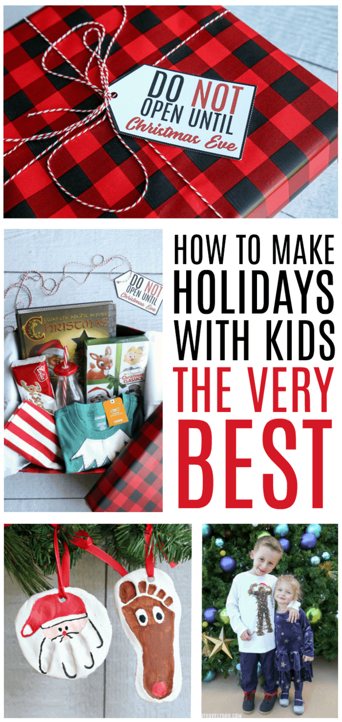 holidays with kids - Fun Things To Do On Christmas Eve