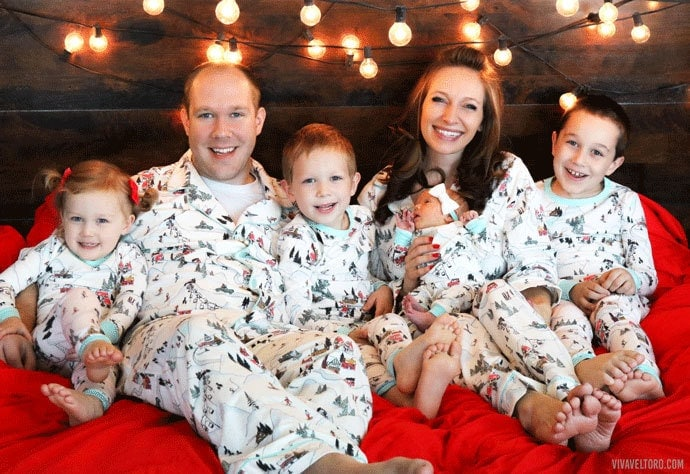 Family Christmas Pajamas With Dog.Matching Family Pj S With Bedhead Pajamas Viva Veltoro