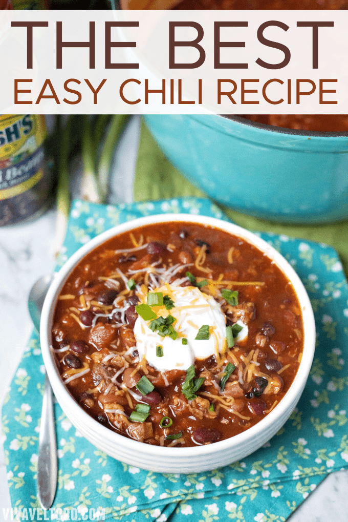 Easy chili recipes with beef