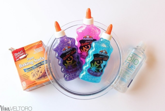 Trolls Party Favor Ideas - GLITTER SLIME! - Viva Veltoro