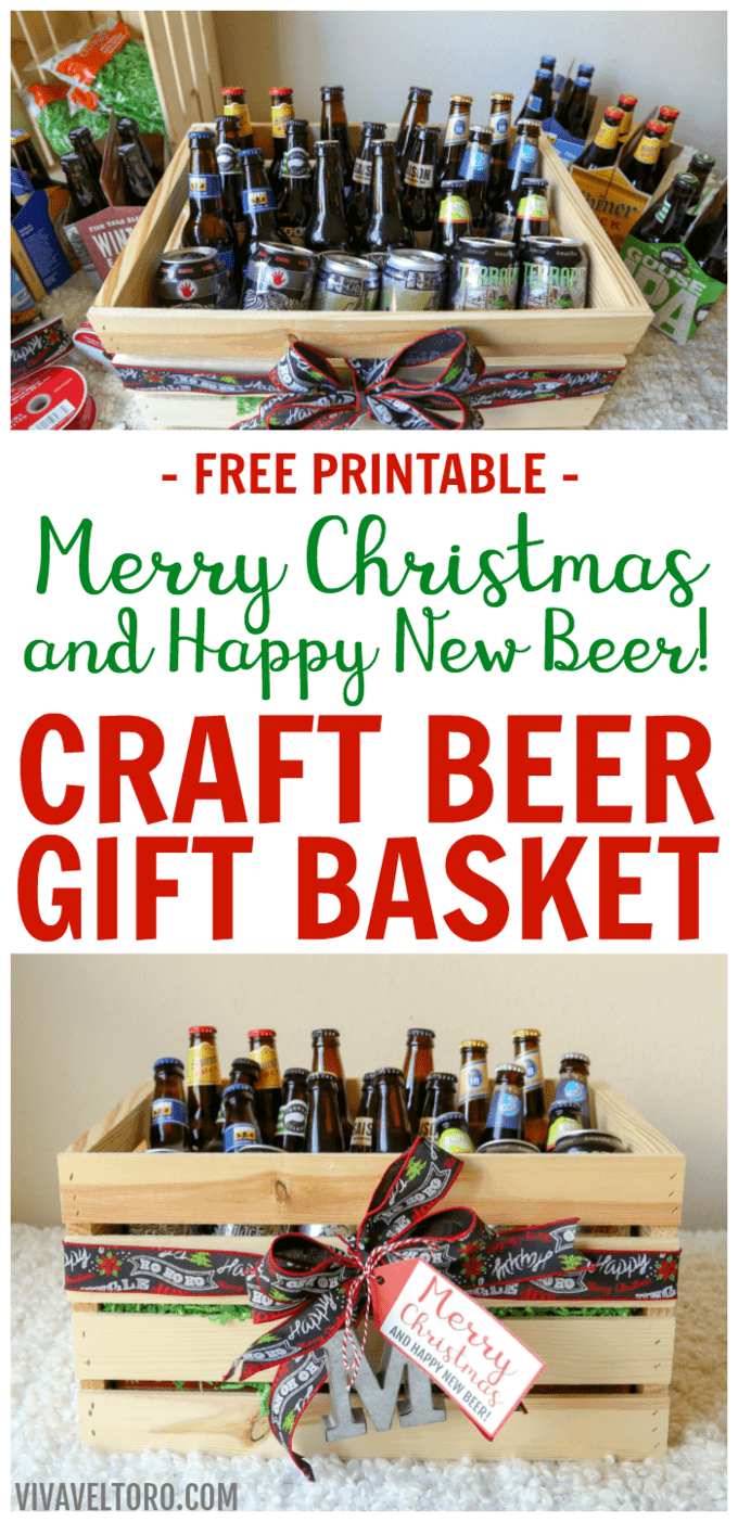 craft beer gift baskets for men merry christmas and. Black Bedroom Furniture Sets. Home Design Ideas