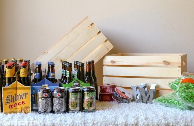 beer gift basket