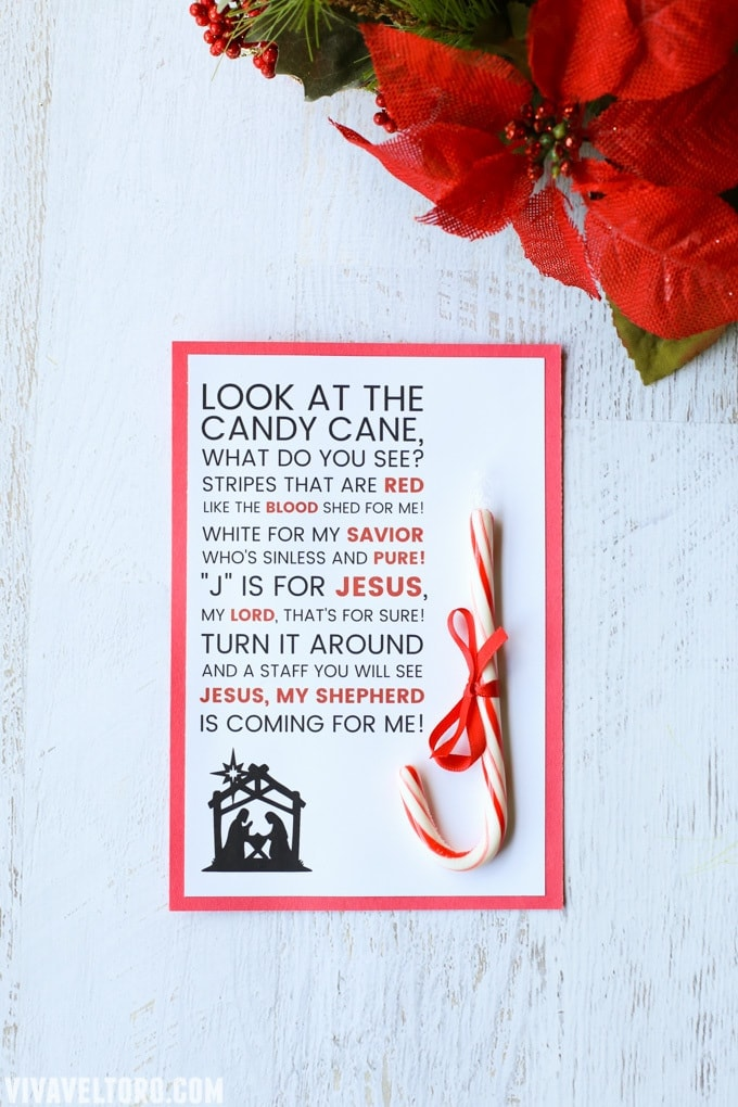 photograph regarding Printable Candy Cane identify Legend of the Sweet Cane Printable - Viva Veltoro